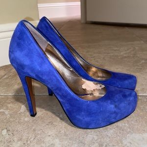 Royal Blue BCBG Heels